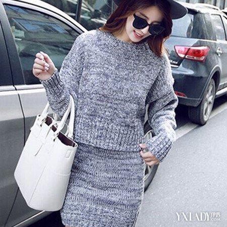【图】女士毛衣套装图片欣赏 轻松掌握毛衣的