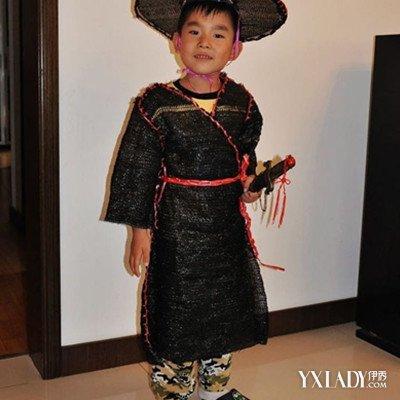 展示自制儿童环保服装图片 环保服引领时尚新潮流