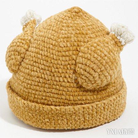 毛线帽子编织花样之麻花帽子编织图解