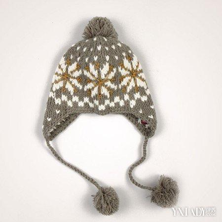 型毛线帽子编织图解,海浪型毛线帽子的要点就是收针