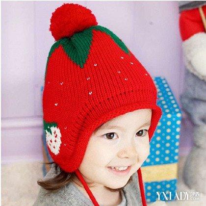 宝毛线帽子编织方法