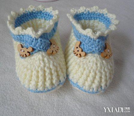 【图】刚出生小孩毛线鞋的织法图解 2种织法简单易学