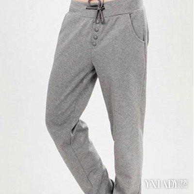 灰色卫裤搭配什么上衣图片欣赏 三个推荐让你时尚舒适两不误
