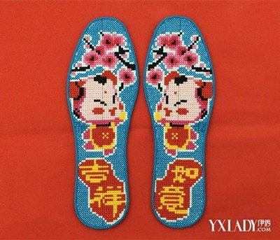 【图】鞋垫十字绣图片欣赏