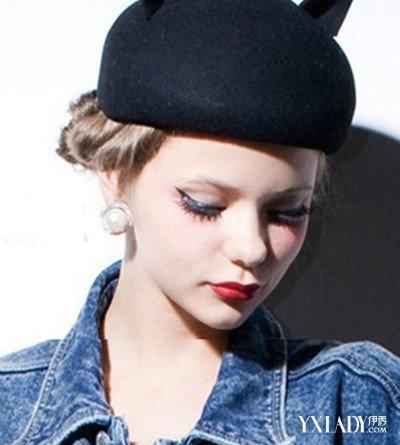 【图】女生戴帽子头像欣赏 提升你的穿搭品位