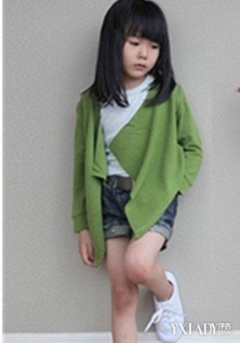 【图】小女孩毛衣编织款式多样