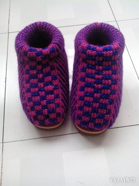 40码中帮毛线棉鞋的织法_中帮毛线棉鞋织法和花样图片