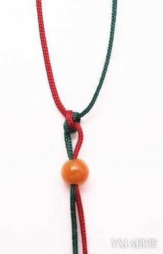【图】吊坠项链绳子的编法图解大全 如何diy自己的项链绳子