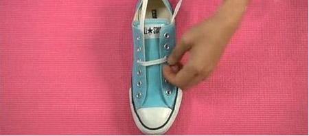 【图】花式系鞋带五角星! 让你的爱鞋时尚起来!