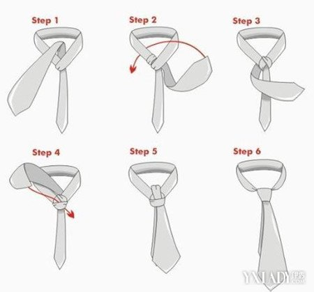 【图】系领带方法图解及介绍 让领带每天都能与众不同