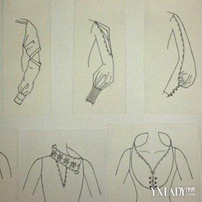 婚纱款式设计图展示