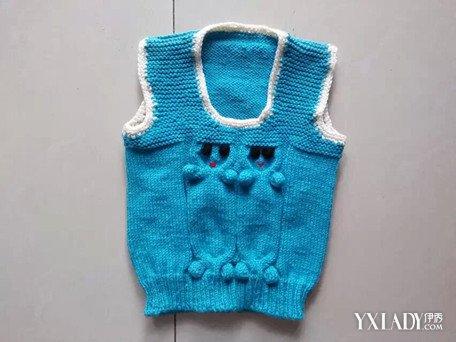 【图】宝宝毛背心编织图案任你学