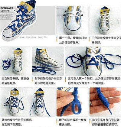 【图】鞋带太长怎么系好看呢 鞋带太长系法图解大全图片