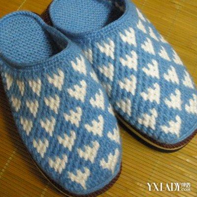 【图】毛线拖鞋的钩法图解大全