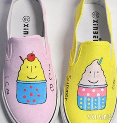 【图】手绘鞋子卡通图片欣赏 4款鞋子时尚又个性