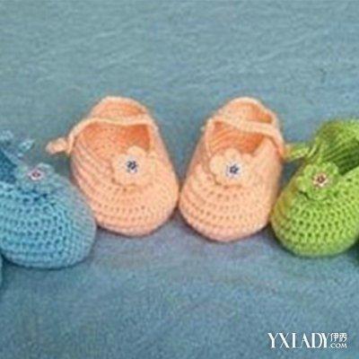 宝宝鞋子的织法图解 针线活很好的妈妈们,总是会给宝宝亲手编织毛线