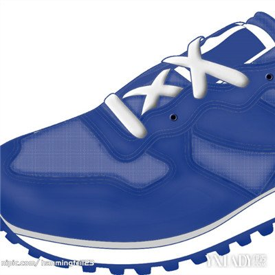 【图】运动鞋鞋带系法图片大全 潮流运动鞋鞋带系法介绍图片