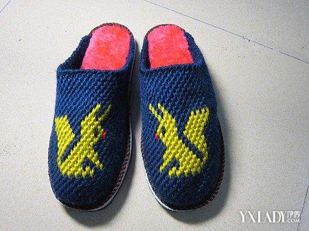 【图】毛线拖鞋花样织法