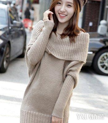 【图】毛衣领子编织花样时尚潮流