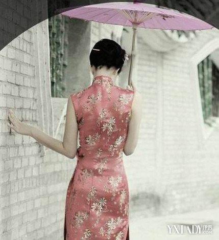 【图】旗袍女人背影图片