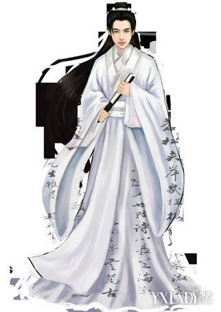 【图】传统的古代男子服饰图片