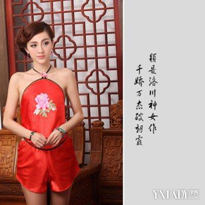 【图】古装美女肚兜抹胸欣赏 穿出奢靡宫廷风