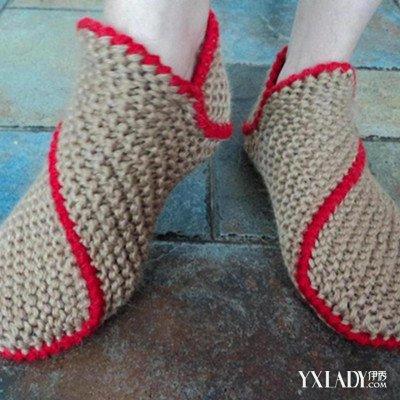 精美的针织拖鞋花样图解 让你温暖潮流一整冬