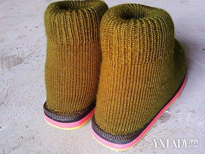 【图】打毛线棉鞋编织步骤