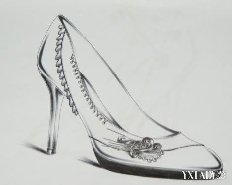 女鞋手绘设计图