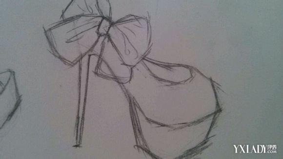 高跟鞋素描画欣赏 14种穿着要求你知多少