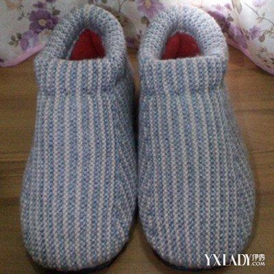 【图】毛线棉鞋的织法大全展示 超详细的棒针毛线棉鞋