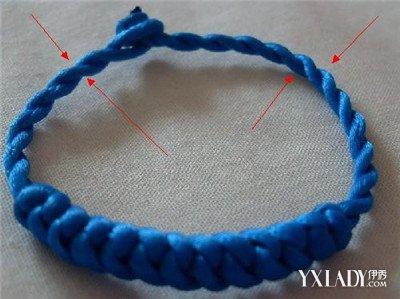 单条绳子的编�_分享手链绳子编法大全 教您轻松动手diy