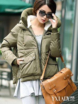 【图】时尚短羽绒服女款v时尚发挥你的潮流御oricophd-25图片