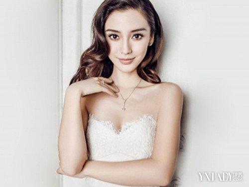 杨颖内衣展现图 以及她的个人经历
