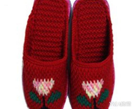【图】暖心毛线棉鞋图片