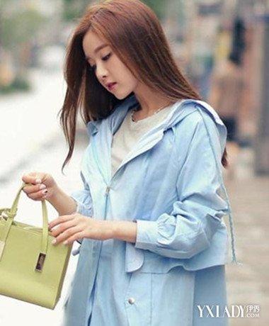 女士风衣_魅力韩版女式风衣打造潇洒通勤范!