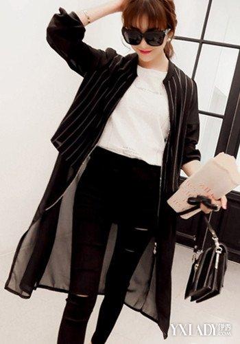 【图】女生黑色棒球服搭配 教你搭出时尚休闲风