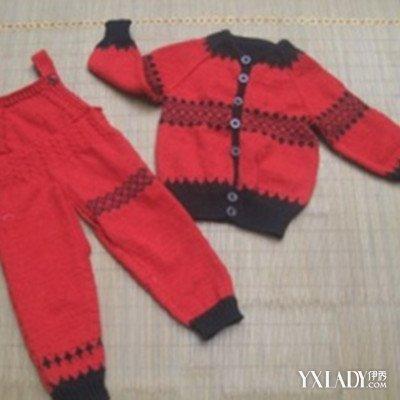 【图】宝宝背带裤编织图解