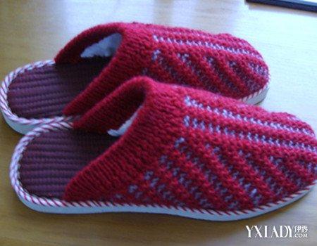 针织毛线鞋子花样图纸