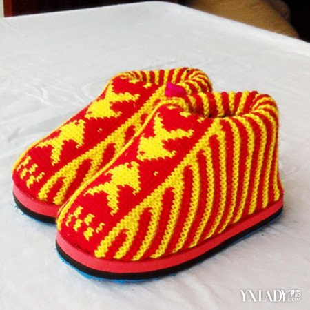 【图】手工毛线棉鞋图片大全