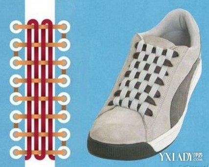 【图】图解两孔鞋带的系法 5种最时尚的鞋带系法介绍图片