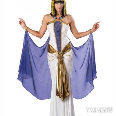 神秘的古埃及服饰 带你领略不一样的异域风情图片