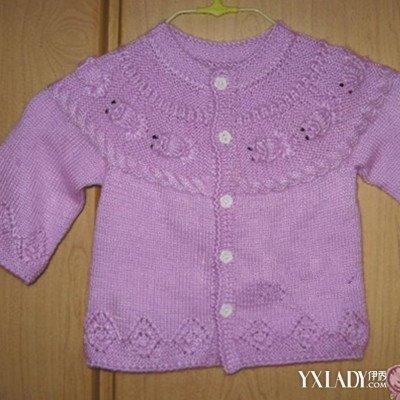 【图】儿童开衫毛衣编织全解