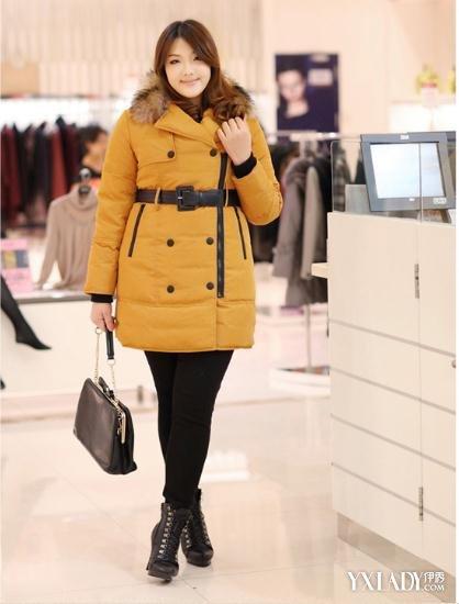 胖女孩秋冬穿衣搭配 4种胖mm穿衣技巧让你显得时尚图片