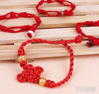 中国结——漂亮的斜卷结手链编法