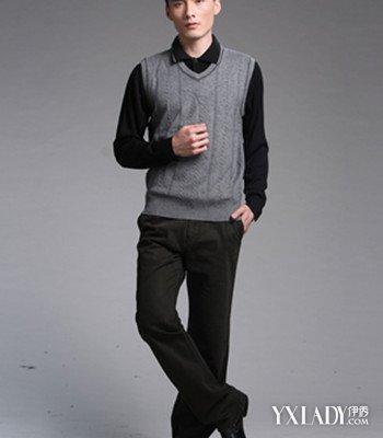 【图】男款毛线背心编织花样
