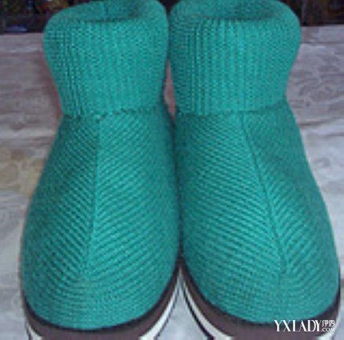 一步步教你编织棉鞋过程图片