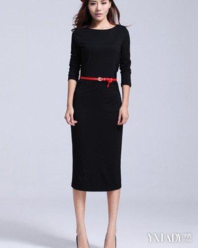 长袖连衣裙裁剪图展示 4款连衣裙尽显优雅气质