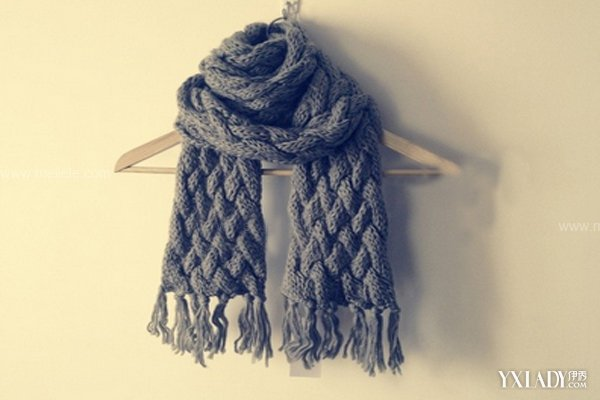 初学织围巾的第一步步骤图片