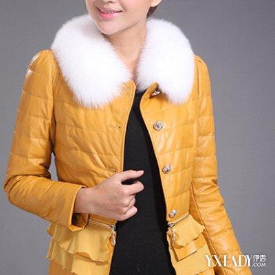 短款毛领皮衣搭配时尚 7个皮衣选购注意事项盘点